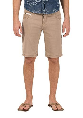 Timezone Herren Slim ScottyTZ Shorts, Braun (Vintage Desert beige 6025), W36