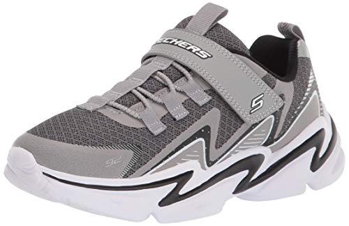 Skechers Lightweight Gore & Strap Snea, Zapatillas, Gris...