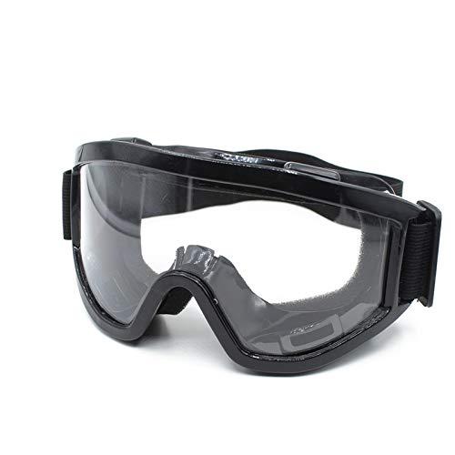 Hombre Mujer Motocross Moto Gafas Ciclismo Ojos Ojos Ojos de Seguridad Cascos Gafas Gafas Deporte al Aire Libre Anti Niebla for Motocicleta (Color : A)