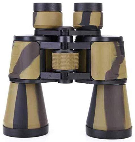 WXDP Telescopio de Alta Potencia,Binoculares HD de Alta definición con visión Nocturna de Rango coordinado Bak4, Impermeable para Senderismo, observación de Aves, Crucero, Negro, Exterior
