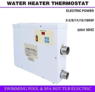 Tengchang 220V 11KW Swimming Pool Thermostat Bath SPA HOT TUB Electric Water Heater
