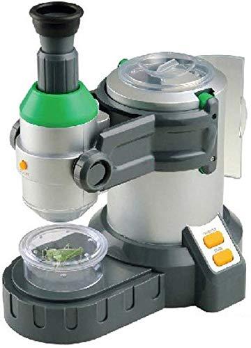 HYCQ Microscopio para los niños, la Ciencia Experimental Juguetes Ciencia y Tecnología Museo de la Ciencia Equipo Juguetes para niños