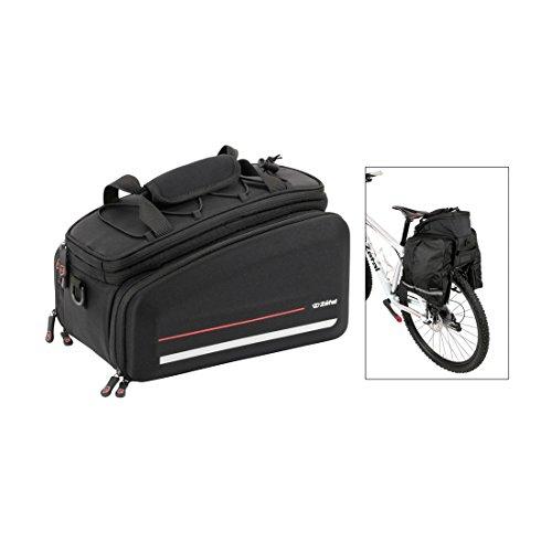 ZEFAL Unisex– Erwachsene Gepäckträgertasche-2701716100 Gepäckträger, schwarz, Einheitsgröße
