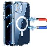 AMZLIFE Magnetische Hülle Kompatibel mit iPhone 12 Mini (5.4