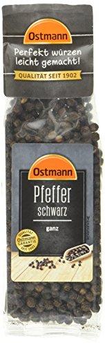 Ostmann Pfefferkörner schwarz, 50 g