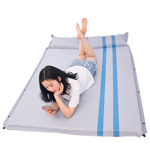 XHJZ-W Isomatte Doppelselbst Inflating Isomatte, 3cm Dicke Schlafsäcke Matten-Matratze-Camp-Auflage für Camping-Reise Indoor Outdoor