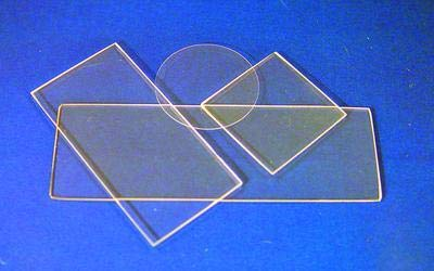 72256-09 - Coverslip Square - Fused Quartz Microscope Slides and Coverslips, Electron Microscopy Sciences - Each