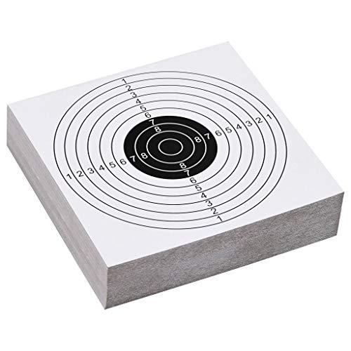 VIENDADPOW Objetivos de Tiro al Blanco de Papel 100 Piezas 15x15 cm