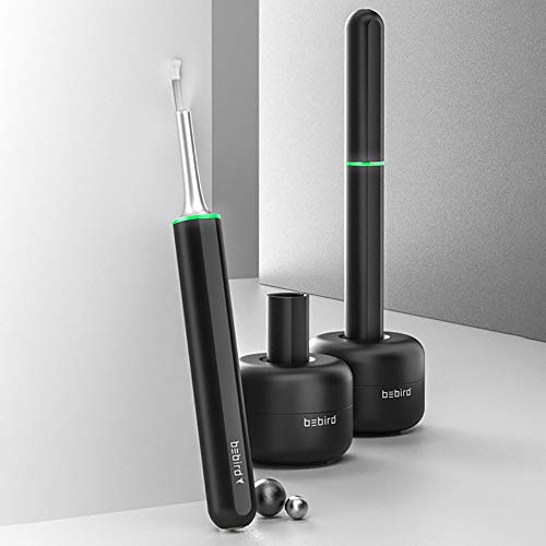 QX Ohr Endoskop, x7pro HD WiFi Ohr Endoskop, Reinigung Endoskop Kamera, Drahtloses Otoskop für Erwachsene Kinder, Ohrendoskop mit 33 Werkzeuge enthalten, für iPhone/iPad, Android