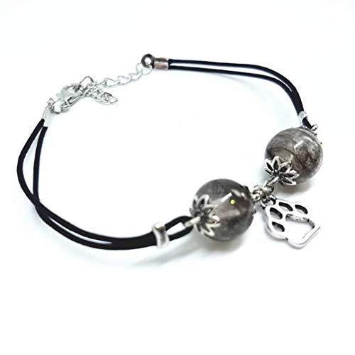 Tierhaarschmuck - Armband mit eingearbeiteten Haaren deines Vierbeiners