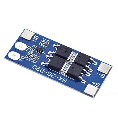 CAIJINJIN Módulo 2S 10A 7.4V 18650 de Litio función equilibrada Tablero de protección de la batería 8.4V / protección cobrado