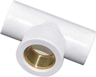 Size : Inside Diameter 40mm no logo WSF-Adapters 1pc PVC Inside Diameter 20//25//32//40//50mm Water Supply Pipe Fittings Elbow Connectors Plastic Joint Irrigation Water Parts
