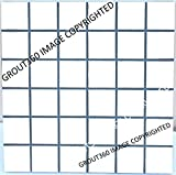 Grout 360 Navy Sanded Tile Grout for Tile Installation Jobs. Use on Floors, Walls, Back Splashes, Showers, and Mosaics. (10)