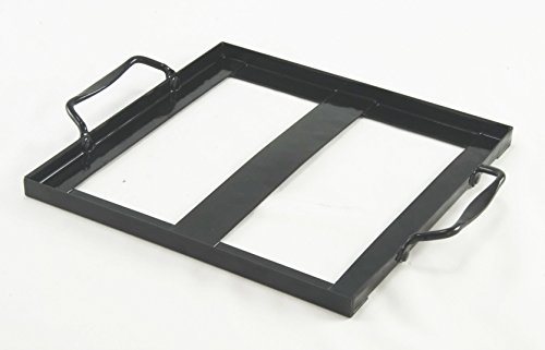 "Charcoal Companion CC3531 Salt Plate Holder, 8"" x 8"""