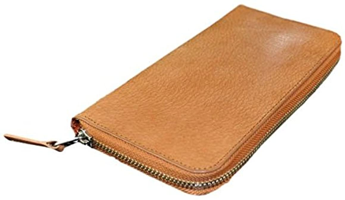 入札妨げるユーザー[ビームススクエア]BEAMZ SQUARE 財布 バッファローレザー製ラウンドファスナー長財布 メンズ BS-1677