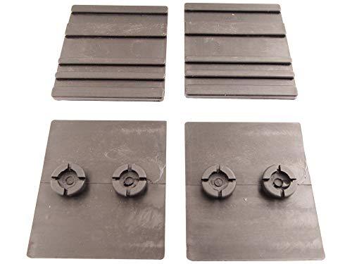 Kunststoffführungen unten passend Berlan 1040-8 Holzspalter