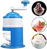 AAZX Manuelle EIS-Crusher Eismaschine manuellen EIS-Crusher einfach Cocktail perfekt für zu Hause Küchenwerkzeug,Blue