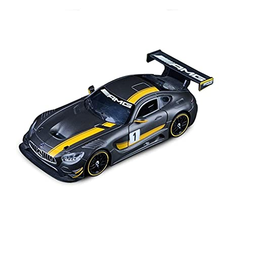 min min Automodell 1:24 / Kompatibel mit Mercedes-Benz AMG GT3 / Racing Simulation Alloy Collection Car Model