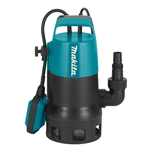 Makita PF0410 elektrische dompelpomp, vuilwater tot 35 mm deeltjesgrootte, 400 Watt