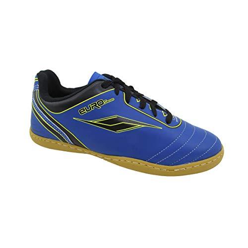 Chuteira Adulto Futsal 4203A - AS031 Cor:Azul-Verde;Tamanho:43