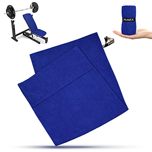 PEAQUE Fitness-Handtuch aus Mikrofaser, Navy-Blau, 120x50