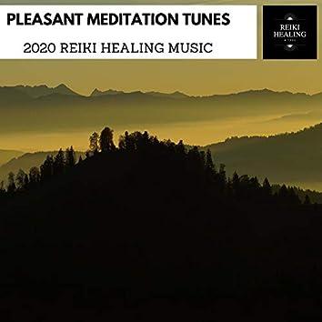 Pleasant Meditation Tunes - 2020 Reiki Healing Music
