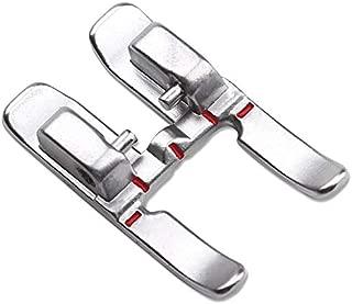 ZIGZAGSTORM 820213096 9mm Snap On Open Toe Applique Presser Foot for Pfaff Group F, G, J, K Sewing Machine 820213-096 - 820213096