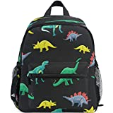 Dino Backpacks for Kids Boys Cute Dinosaurs Triceratops Protoceratops Preschool Toddler Bookbag Backpack with Chest Strap Mini Adorable Animals Kindergarten School Bags
