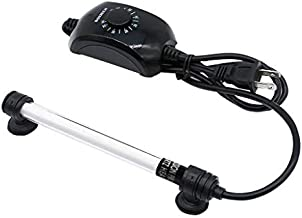 boxtech Aquarium Heater 100W, Submersible Fish Tank Thermostat Proof Explosion and Auto Digital Control, with Heat-Resistant Quartz Made for 10-30 Gallon