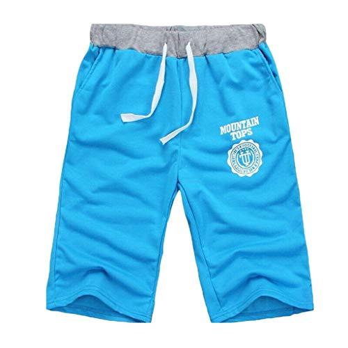 Sport Shorts Herren Kurze Sweatpants Baumwolle Boxing Shorts Boxen Kurze Hose Sport Trainingshose Sporthose Kurze Freizeithose