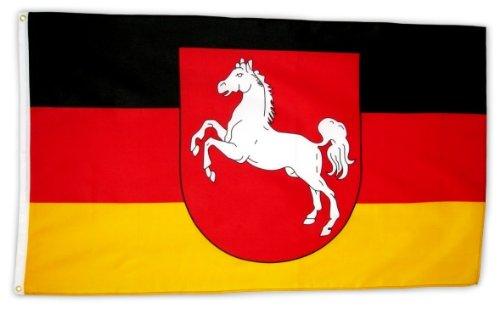 Fahne Flagge Niedersachsen 90x150 cm