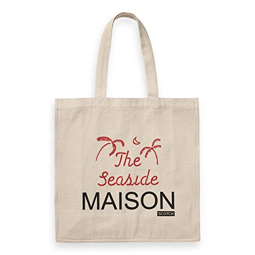 Maison Scotch Damen Tragetasche Graphic Printed Tote Bag 150365 Combo B One Size