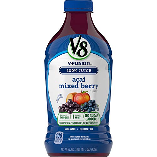 V8 Acai Mixed Berry, 46 oz. Bottle