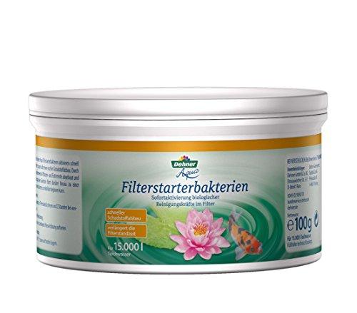 Dehner Aqua Teich-Filterstarterbakterien, 100 g, für ca. 15.000 l