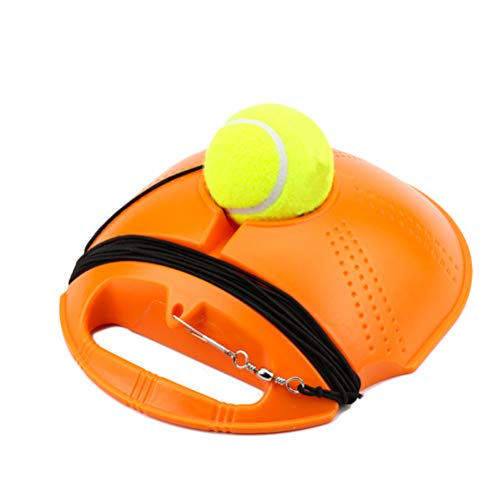 Yuciya Tennistrainer, Tennistrainer-Training Tennis-Tool Tennisball-Trainer Tennis-Trainingsgeräte Trainer-Tools Tennis-Hilfe Sport Tennisball Back Balls Back Base