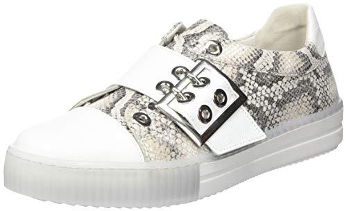 Gabor Women's Low-top Sneakers - 43.3. Low-Top Sneakers , Beige Leinen Weiss , 9.5 US