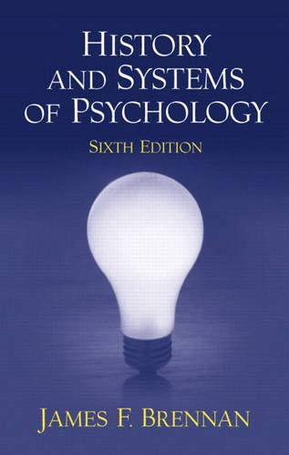 History and Systems of Psychology (6th Edition)