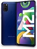 SAMSUNG Galaxy M21 - Smartphone Dual SIM de 6.4' sAMOLED FHD+,Ttriple Cámara 48 MP, 4 GB RAM, 64 GB...