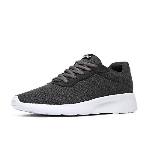 MAIITRIP Men's Running Shoes Sport Athletic Sneakers,Charcoal Grey/Gray,Size 7