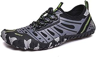 أحذية Upstream - أحذية الصيف سريعة الجفاف Upstream أحذية المشي لمسافات طويلة مريحة ناعمة للسباحة على الشاطئ أحذية رجالية ر...