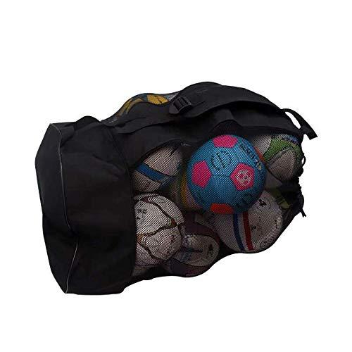 Pallone da Basket Rete Zaino per Palle da Pallavolo Zaino Super Grande per Calcio Pallacanestro Pallone da Calcio Adatto per Reti da Pallina Borsa da Allenamento Sportiva/Confezione da 15 Palline