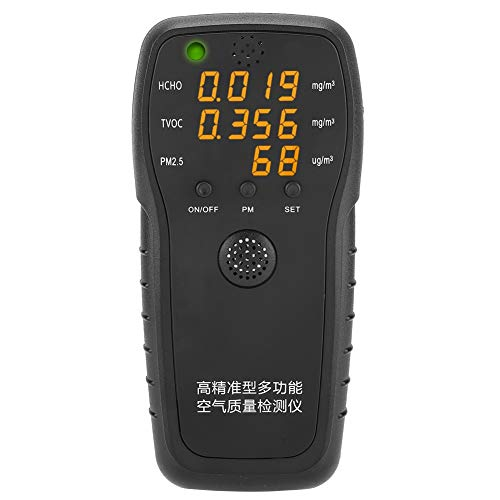 Formaldehyde detector fijn stof meter hoge precisie PM2.5 luchtkwaliteit meetinstrument monitor voor thuis automotive buitenlucht testen