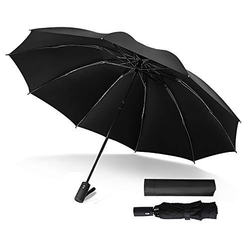 Paraguas de Viaje automático Plegable Compacto Paraguas