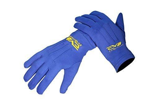 Evo Thermique Hiver Gants Interne Golf Ski Cyclisme Moto Marche Baselayer - Bleu, X-Large