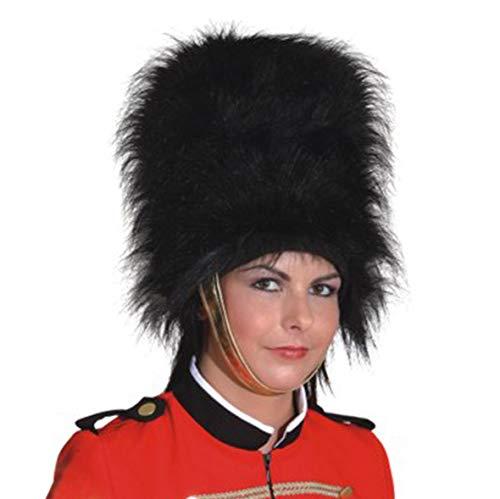 Fellmütze Garde dames soldat chapeau carnaval chapeau de garde britannique