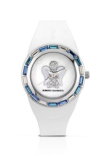 Orologio da polso donna ROBERTO GIANNOTTI ANT17 con cinturino in silicone bianco ANGELI