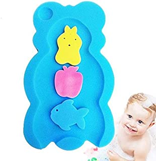 Baby bath mat thickened soft sponge non-slip mat Non Slip Soft Baby Kids Safety Shower Tub Bath Mat Skid Proof and Anti Ba...
