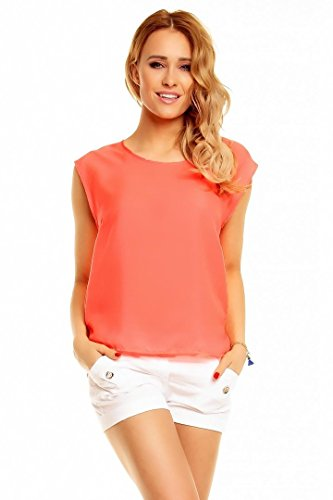 Shirt TOP blouse STITCH SOUL NEON PINK