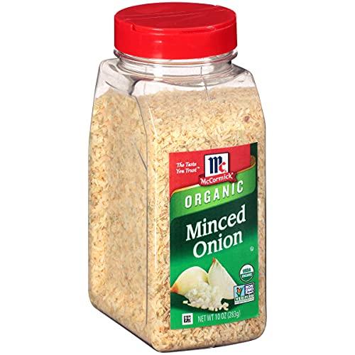 McCormick Minced Onion (Organic, Non-GMO, Kosher), 10.3 oz