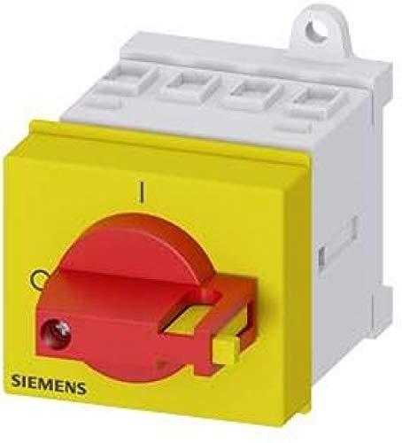 Siemens 3LD2–Schrank Schalter 3-polig 32A Rot/Gelb